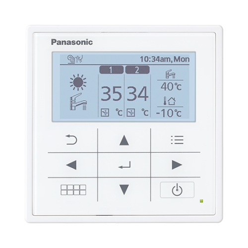 Panasonic-Aquarea-Moderner-Regler